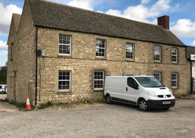 Office Conversion to Three Apartments at Enslow
